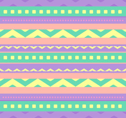 Abstract seamless pattern in pastel colors