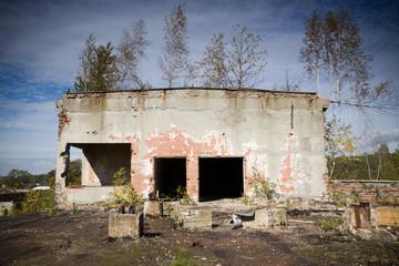 abandoned factory Poland
