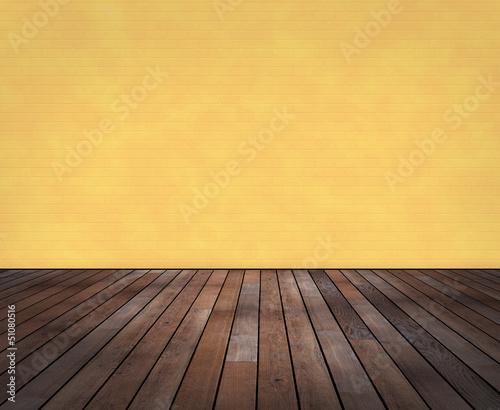 Raum mit holzboden und wand in wischtechnik stockfotos und lizenzfreie bilder auf - Wand wischtechnik ...