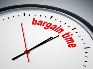 bargain time