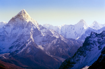 Poster Nepal Himalaya Mountains