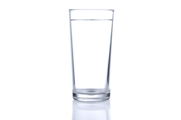 Glass of cold still water