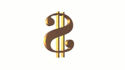 Как сделать знак доллара 543