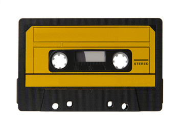 cassette isolated on white