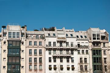 immeubles rue Rambuteau à Paris