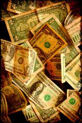 Papiers peints Affiche vintage Retroplakat - Dollars III
