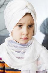 Pretty little muslim girl