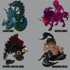 Mythical Creatures Set 23