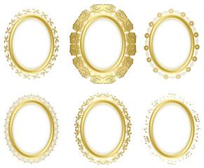 decorative frames - vector set