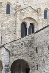 Particolare facciata della Basilica di Aquileia