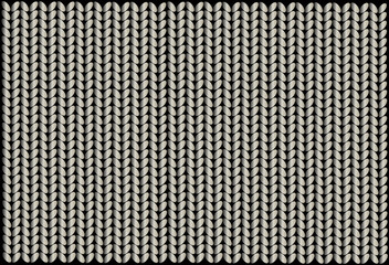 knitted wool, vector background