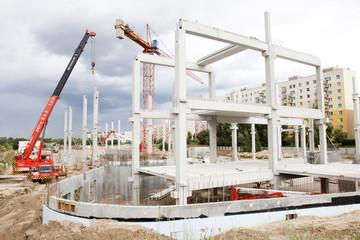 Fototapeta Budowa obraz