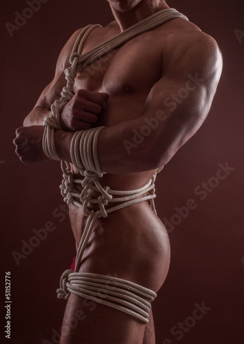 Bondage male photo