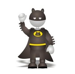 Aluminium Prints Superheroes super hero (3D people)