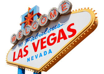 Garden Poster Las Vegas Las Vegas sign isolated