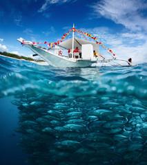 Wall Mural - Fishing boat