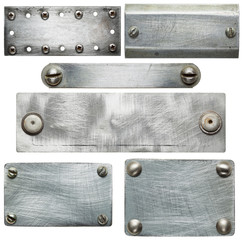 Fototapete - Metal plates