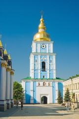 Wall Murals Kiev Колокольня Михайловского Златоверхого монастыря в Киеве