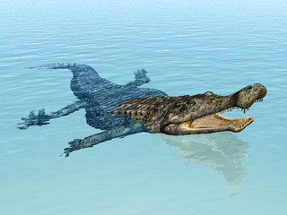 Crocodile Sarcosuchus