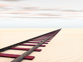 Rail in the Desert