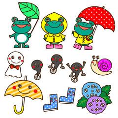 梅雨 キャラクター