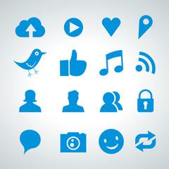 social network icon set - 2013_04 - 01