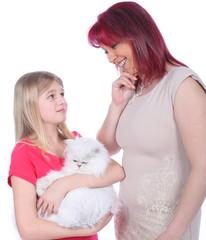 Kind wünscht sich eine Katze - Konflikt