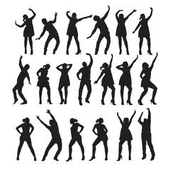 Dancer. Vector illustration