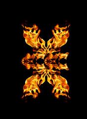 Fire patern kaleidoscope