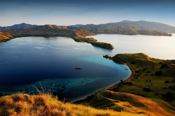 Printed kitchen splashbacks Indonesia Komodo island national park