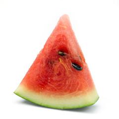 watermelon slice close up