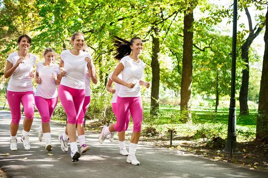 Jogging group