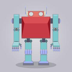 Spoed Foto op Canvas Robots Classic robot