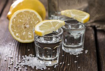 Poster de jardin Eclaboussures d eau Two Shots (Tequila)