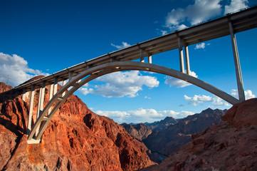 Canvas Prints Bridge Bridge near the Hoover Dam, Nevada.
