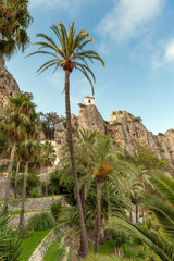Climbing to Guadalest
