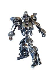 Handmade metallic robot Bumblebee Transformers