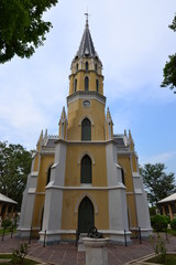 Thai temple in Christian church style