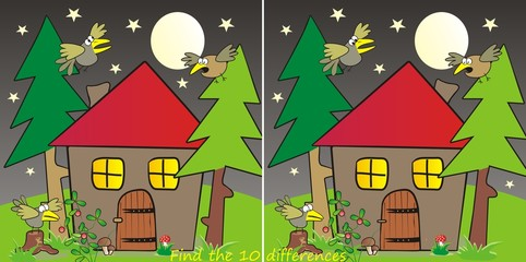 house in forest-10 differences