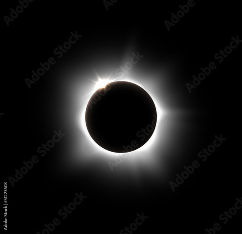 Canvas Prints Solar eclipse