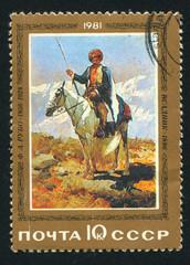 Horseman by Franz Roubeau