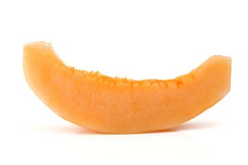 cantaloupe slice