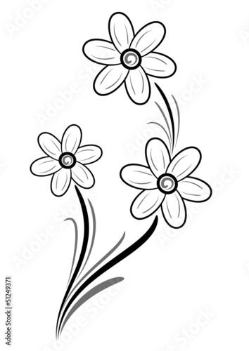 Tattoo floreale immagini e vettoriali royalty free su for Una decorazione e formata da cinque rombi simili