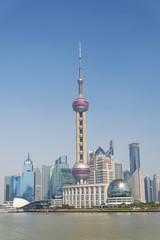 Wall Murals Shanghai pudong skyline in shanghai china