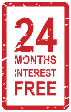 24 Months Interest Free