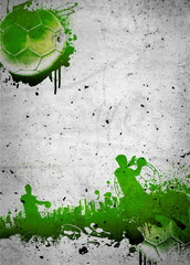 Wall Mural - Handball background