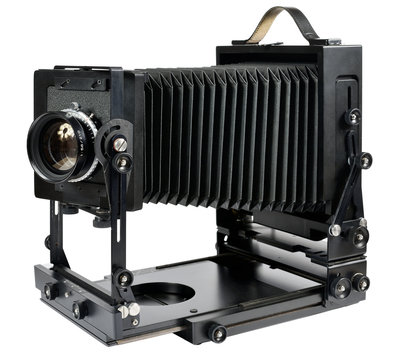 Large format camera, path included