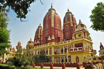 Fototapeten Delhi The Laxminarayan Temple