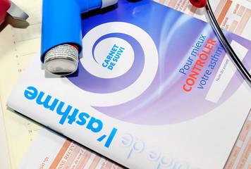 carnet de suivi pour asthmatiques,médecine,allergologie