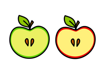 Apple drawing